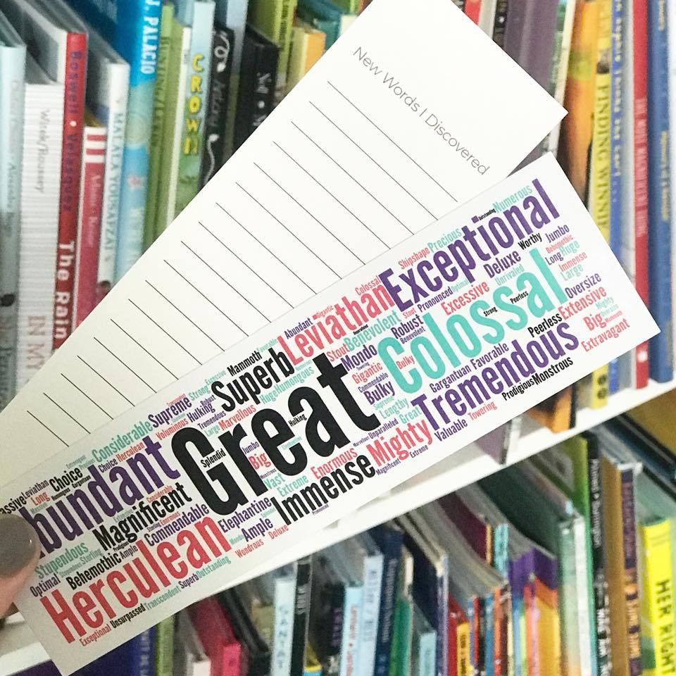 "Synonym Bookmarks ""Great"" (30ct) - The Teacher Trove"