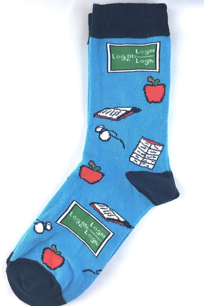 Women's Teacher Socks - The Teacher Trove