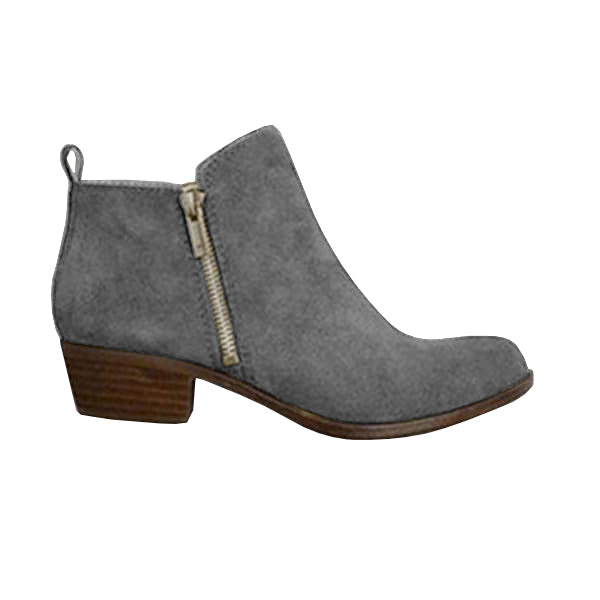 Sandalsvibe Leather Suede Vintage Boots