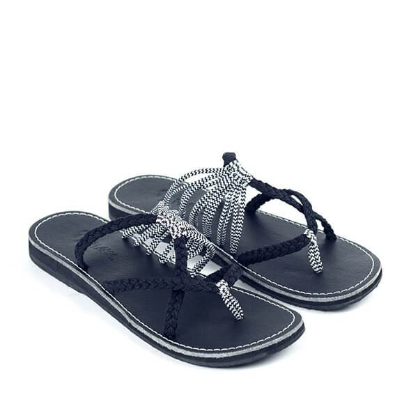 Sandalsvibe Oceanside Rope Flats Sandals