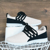 Sandalsvibe Adjustable Laces Suede Sneakers