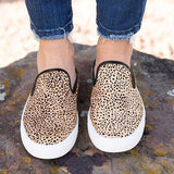 Sandalsvibe Leopard&Camouflage Flats Canvas Sneakers