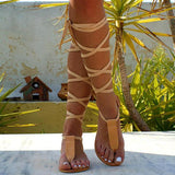Sandalsvibe T-strap Ancient Greek Sandals