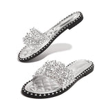 Sandalsvibe Fashion Embellished Open Toe Slippers