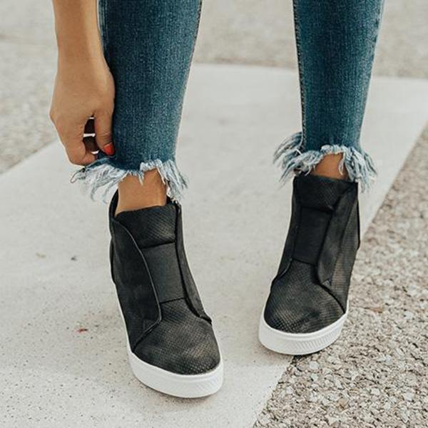 Sandalsvibe Fashion Stylish Daily Wedge Sneakers