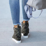Sandalsvibe Extra Mile Wedge Sneakers