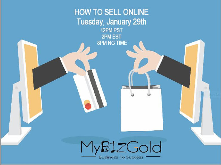How To Sell Online - Full Downloadable Presentation