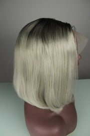 100% Virgin Remy Short Bob Ombré Full Lace Wig - MyHairGold
