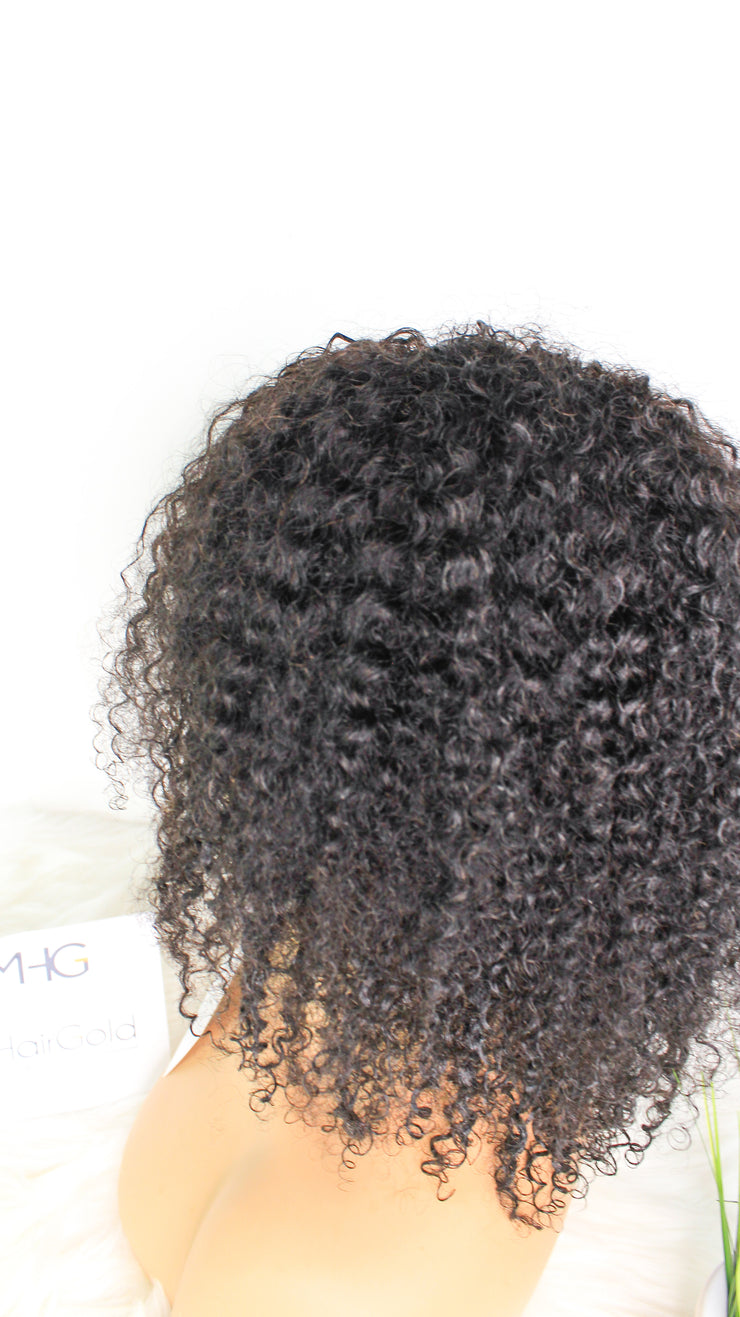 Wear & Go Naturally Curly Lace Front Wig - MyHairGold
