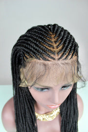 Bo Derek didn't Start This Cornrow Braided Wig - MyHairGold