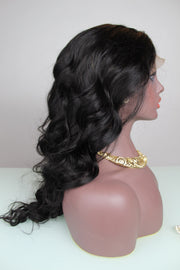 100% Virgin Remy Body Wave Full Lace Wig - MyHairGold