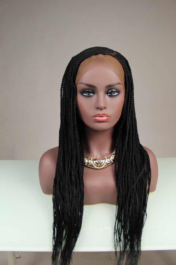 Ghana Braids with Full Closure
