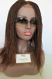 Microtwists Braided Wig - Color 33/30 mix - MyHairGold