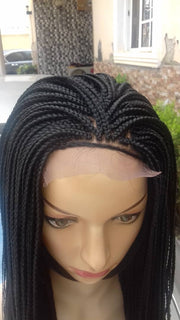 Box Braided Wig - Medium