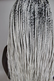 "White Hot ""Queen Ramonda"" Box Braids 26"""