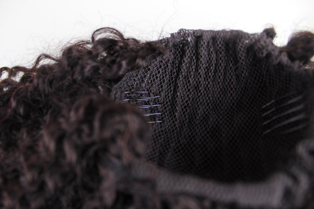 Type 4a/4b kinky Curly ponytail attachment