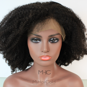 "Kinky Coily 16"" Afro Wig - MyHairGold"