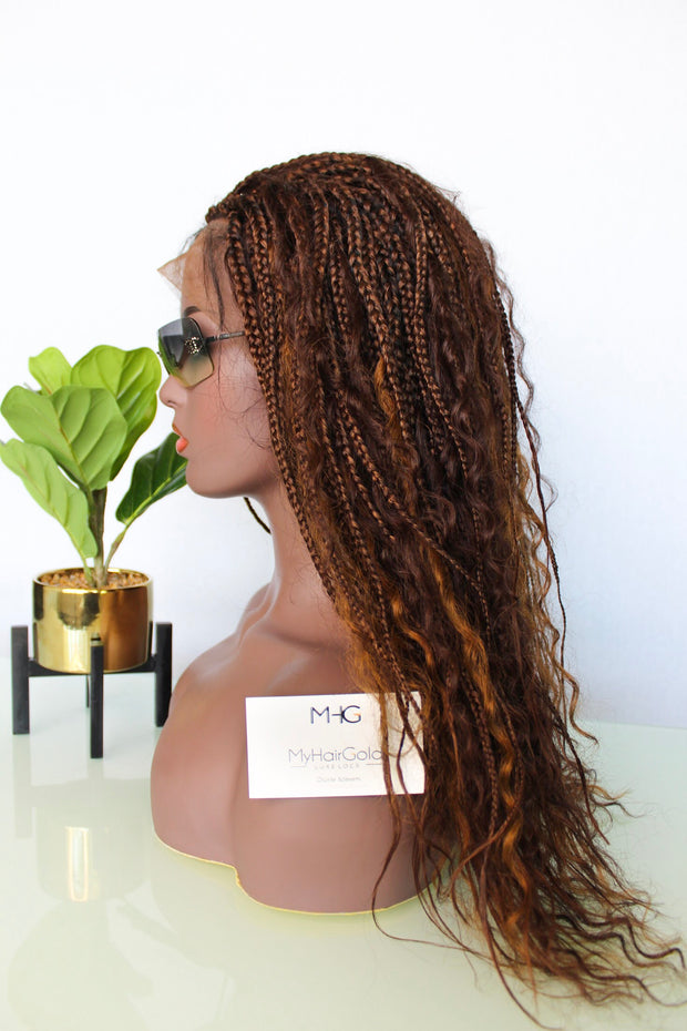 Boho Braided Wig 13*4 Lace Frontal