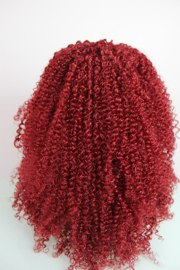Big & Bold Curly Red Synthetic Wig
