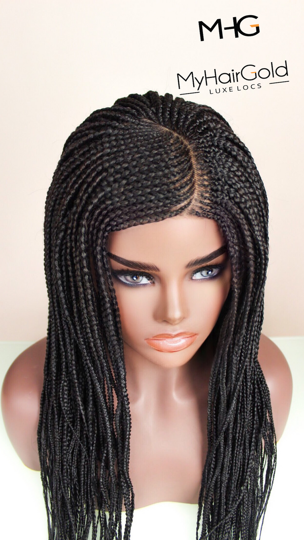Ghana Braids w/ Lace Frontal or Closure - MyHairGold