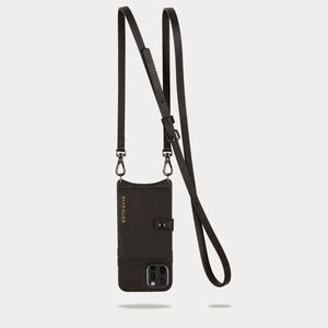 Classic Pebble Leather Zip Pouch - Primrose/Silver Accessories Bandolier