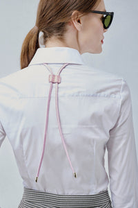 The Bolo Eyeglass Tie - Pink/Gold Accessories Bandolier