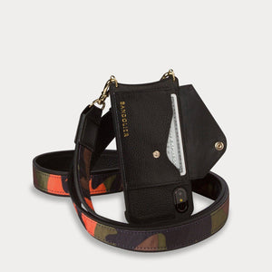 Billie Crossbody Utility Strap - Black/Silver Accessories Bandolier