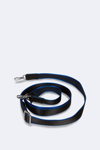 Bobby Nylon Adjustable Strap - Black and Blue
