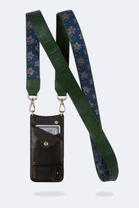 Angela Star Denim Strap - Denim/Gold
