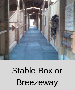 Rubber for Horse stables