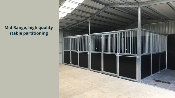 Mid Range, high quality stable partitioning