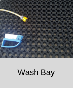 Rubber for Wash Bay