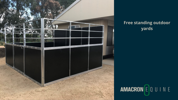 Free standing outdoor yards
