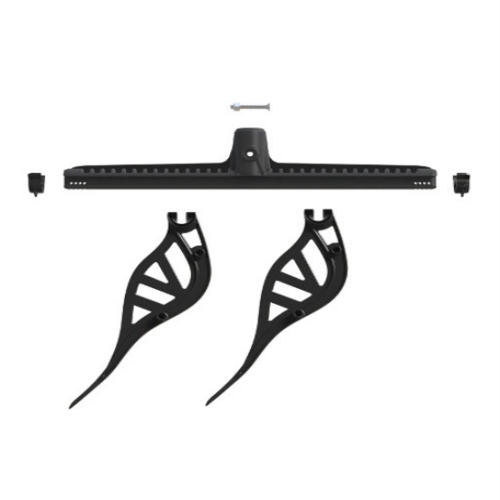 Wave Fork Rail Set - Black