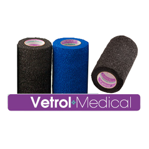 VX100 Cohesive bandages - black