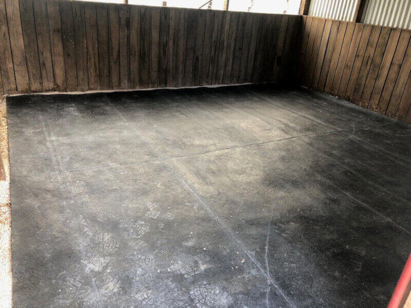One Piece Rubber Stable/Breezeway Mats 14mm Thick