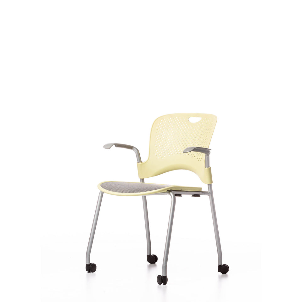 HERMAN MILLER CAPER 4 LEGGED with CASTORS