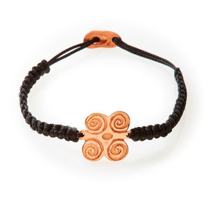 ICON Macrame Bracelet Strength - Black - No Memo