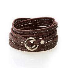 Load image into Gallery viewer, REBEL Versatile leather wrap Dark Brown - No Memo