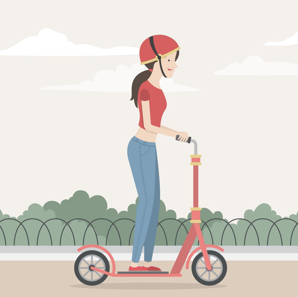 How to prevent electric scooter riding injuries