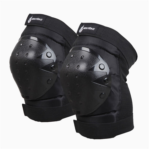 Knee pads protectors with white background
