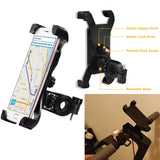 Phone holder for electric scooter different angles