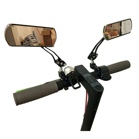 rear view mirror installed on xioami mijia m365 electric scooter