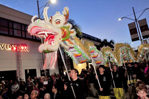 Chinese New Year in Beverly Hills