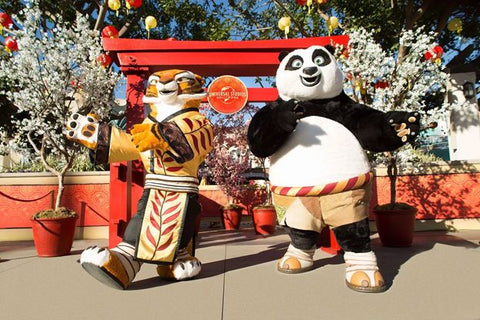 Lunar New Year at Universal Studios Hollywood