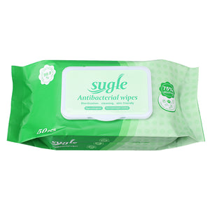 Sugle 75% Alcohol Wipes 50ct/bag - Better Daily Goods