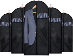 Foldable Oxfrod Fabric Garment Bags for Storage 5 Pack 54 Inch for Travel - Better Daily Goods