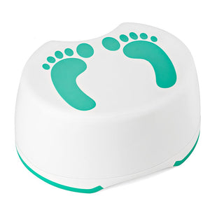 Step Stool for Children Anti-slip Bathroom and Kitchen Foot Stool Mommy Helper Hand Washing Teeth Brushing (Green) - Better Daily Goods