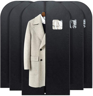 Foldable Nonwoven Fabric Garment Bags for Storage 5 Pack 54 inch for Travel - Better Daily Goods