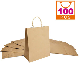 Paper Bags Gift Bags with Handle Large Paper Shopping Bags Paper Party Favor Bags Retail Paper Bags Bulk - Better Daily Goods